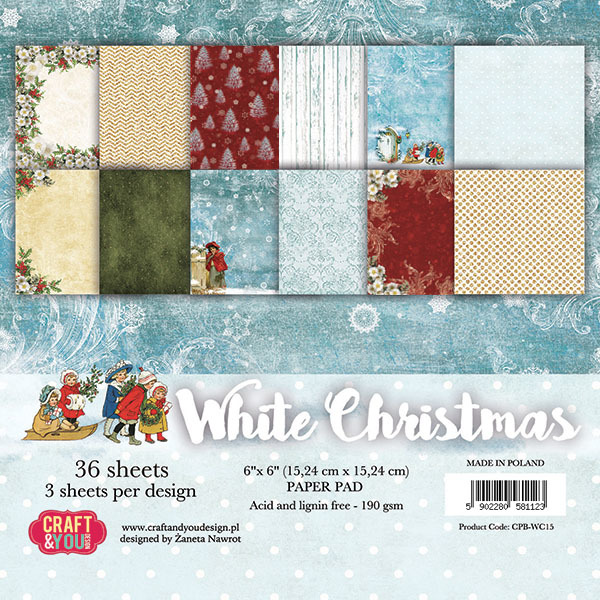 CP-CS08 Christmas Story 08 Sheet of elements to be cut 12X 12 10vel