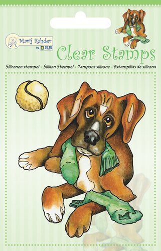 9.0043 MRJ Clear Stamps Dog