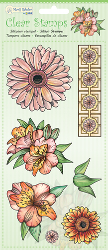 9.0048 MRJ Clear Stamps Flowers